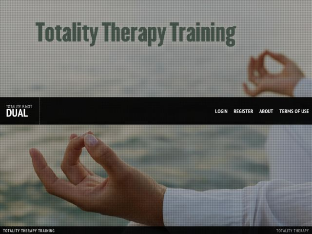 Totality Therapy Training